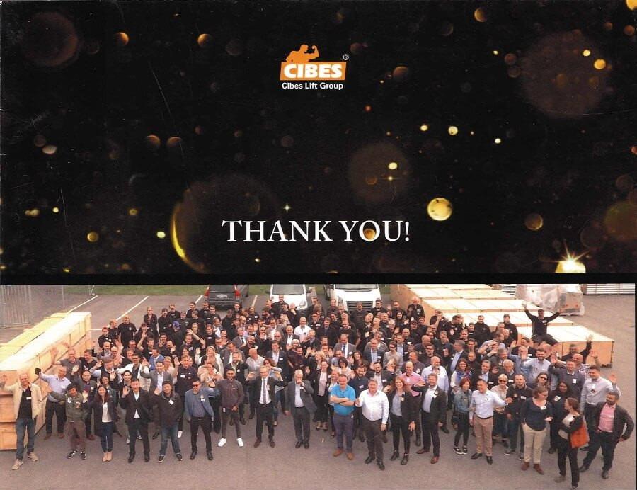 CIBES podziękowania - strona tytułowa
