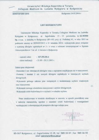 UMK - Szpital im dr A. Jurasza